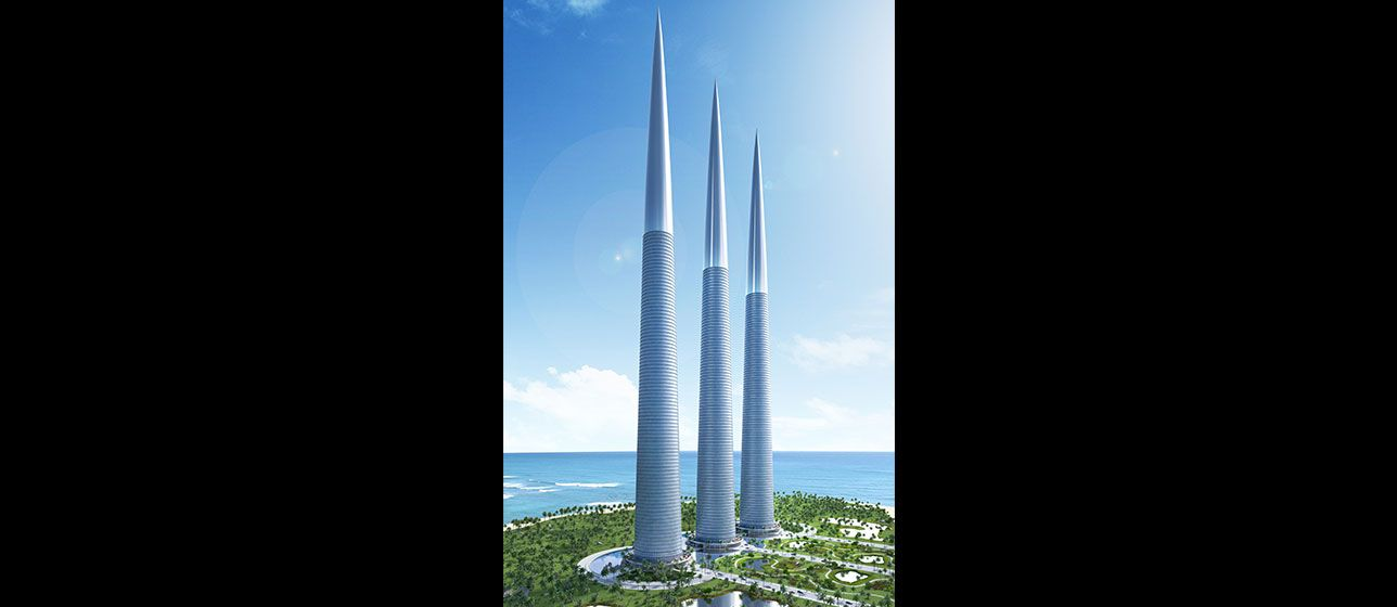 Sky Towers - Luxury 5 Star Hotel and Condominium Complex